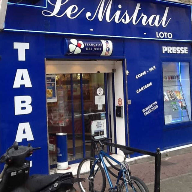 Tabac Le Mistral