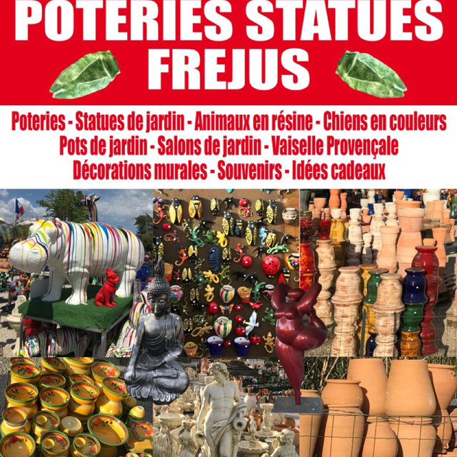 Poterie Statue Frejus