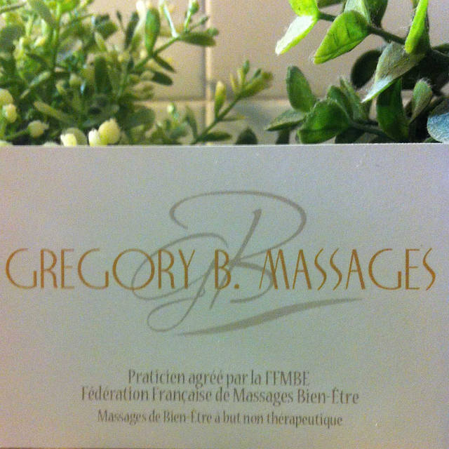 GREGORY B. MASSAGES