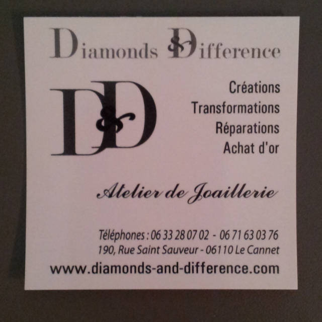 Diamonds And Difference